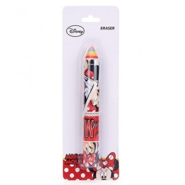 Disney Minnie Mouse Pencil Shaped Eraser