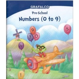 Grafalco Pre-School Numbers 0 To 9 (N0091)