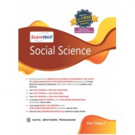 Goyal Brothers Score well CBSE Sample Papers With Model Test Paper In Social Science For Class 10
