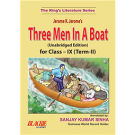 S Chand Three Men In A Boat for Class 9 Term 2