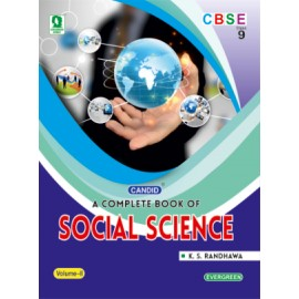 Evergreen A Complete Book Of Social Science for Class 9