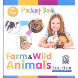 Edu Hub My First Pocket Book of Farm & Wild Animals