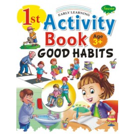 1st Activity Book Good Habits (Manoj Publications)