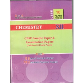 Deepa CBSE Chapterwise Solution Chemistry for Class 12 (2019)