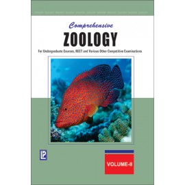 Laxmi Comprehensive Zoology Vol-II for Undergraduate Courses, Jee Main & Advanced, Neet And Various Other Competitive Examinations by Dr. JP Sharma