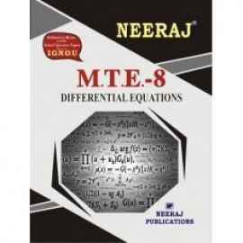 Neeraj IGNOU Differential Equations (MTE-8)