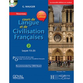 Cours de Langue et de Civilization Francaise 2 Textbook of French by Hachette
