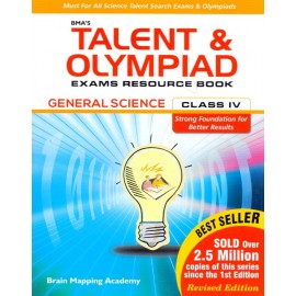BMA's Talent & Olympiad Exams Resource Book General Science for Class 4