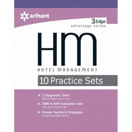 Arihant 10 Practice Sets Hotel Management