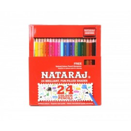 Nataraj Colour Pencils (24 Full Size)