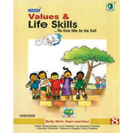 Evergreen Candid Values & Life Skills for Class 8