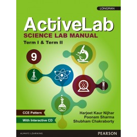 Pearson ActiveLab Science Manual for Class 9