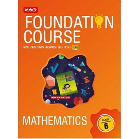 MTG JEE IMO Olympiad Mathematics Foundation Course For Class 6 (2020)