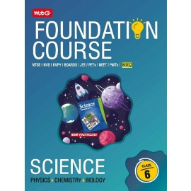 MTG JEE NEET NSO Olympiad Science Foundation Course For Class 6 (2020)