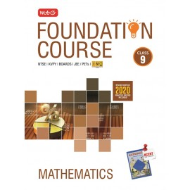 MTG Mathematics Foundation Course for Class 9 (JEE/Olympiad) (2020-21)