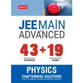 MTG Chapterwise Solutions 43 + 19 Years Physics (Jee Advanced + Jee Main) (2021)