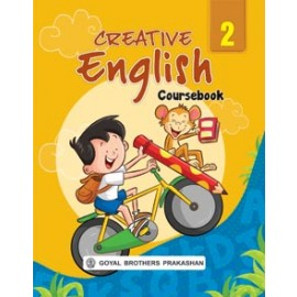 Goyal Brothers Creative English Coursebook for Class 2 by Rev. Fr. Cosmos