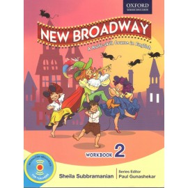 Oxford New Broadway English Workbook for Class 2