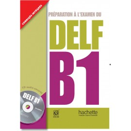 DELF B1 Book of French by Hachette