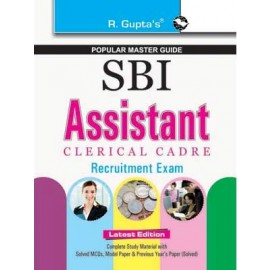 RPH SBI Assistants (Clerical Cadre) Exam (R-1712) - 2019