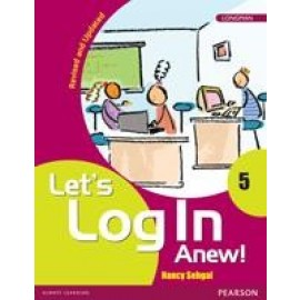Pearson Let's Log In Anew Textbook  for Class 5