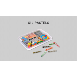 Doms Oil Pastels 50 Shades (Tray)