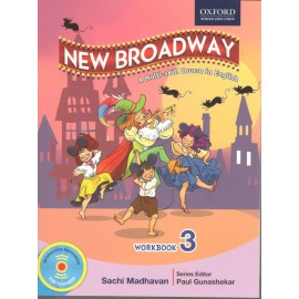 Oxford New Broadway English Workbook for Class 3