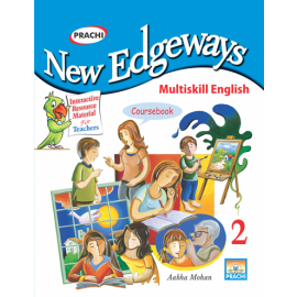 Prachi New Edgeways Multi Skill English Coursebook for Class 2