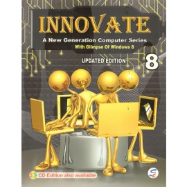 Sapphire Innovate (A New Generation Computer Series) for Class 8