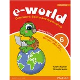 Pearson E-World Computers (Basics and Applications) Textbook for Class 6