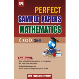 APC Perfect Sample Papers Mathematics for Class 9 (SA-II)