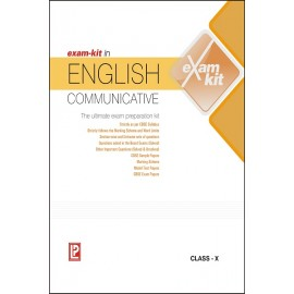 Exam-Kit in English Communicative for Class 10 by Laxmi Publications
