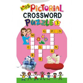 Kids Pictorial Crossword Puzzle-3 (Manoj Publications)