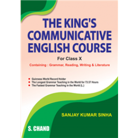 S Chand The King's Communicative English Course for Class 10