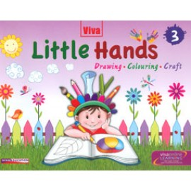 Viva Little Hands Drawing, Colouring, Craft Book 3