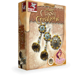 Toy Kraft Paper Quilling - Make Equisite Earrings