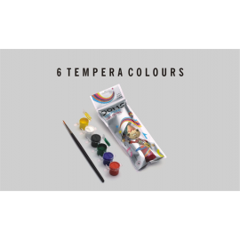 Doms Tempera Colour 6 Shades