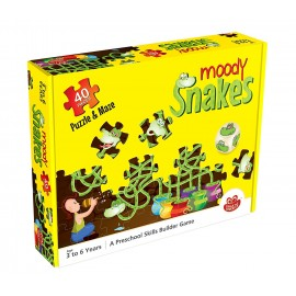 Chalk & Chuckles Moody Snakes A Maze And A Puzzle (CCPPL031)