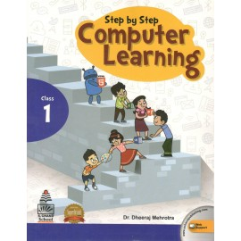 S Chand Step By Step Computer Learning Book 1