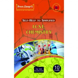 Arun Deep's Self Help To ICSE Simplified Chemistry for Class 10 (Allied)