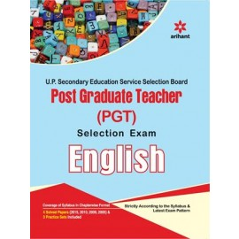 Arihant Uttar Pradesh Post Graduate Teacher (PGT) Selection Exam - English