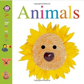 Little Alphaprints: Animals Board Book by Priddy Books