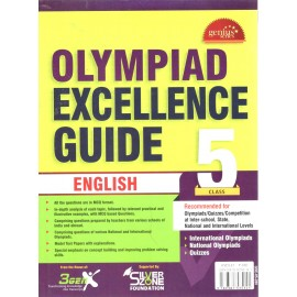 Silver Zone Olympiad Excellence Guide English for Class 5