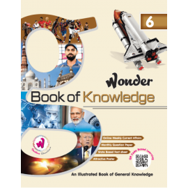 Doublew Education Wonder Book of Knowledge for Class 6