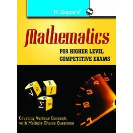 RPH Mathematics for Higher Level Competitive Exams (R-1296) - 2019