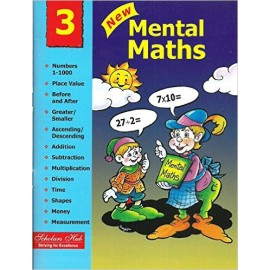 Scholars Hub New Mental Maths for Class 3 by Mridula Somayajulu