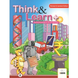 Reem Think & Learn General Knowledge for Class 8