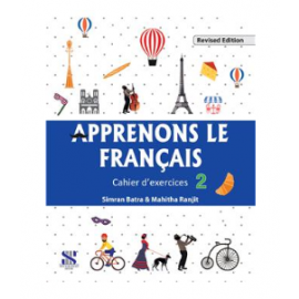 New Saraswati French of Apprenons Le Francais Workbook Part 2