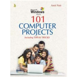 Pustak Mahal 101 Computer Projects Including Tipps & Tricks (8716T)