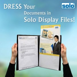 Solo Display File-60 Pockets F/C (DF213)